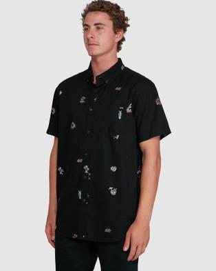 Billabong Sundays Mini Short Sleeve Shirt - Shirts & Polos (PHANTOM)