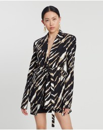 House of Holland - Zebra Tie Dye Tailored Jacket