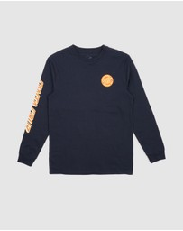 Santa Cruz - MFG Dot LS Tee - Teens