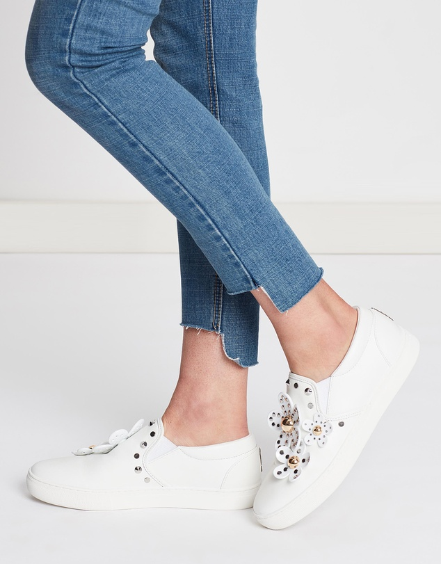 Marc Jacobs - Daisy Studded Slip-On Sneakers