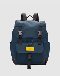 Fossil - Weston Blue Backpack