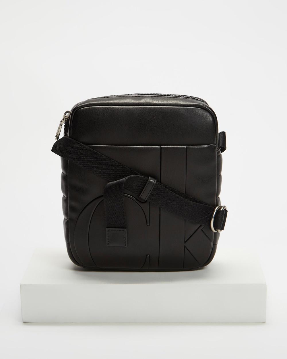 Calvin Klein Jeans Micro Reporter Bags Black Australia