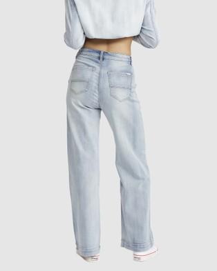 Jac & Mooki Wide Leg Jeans - Jeans (vintage wash)