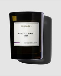 SENSORI + - Detoxifying Soy Candle Wiruna Night 2850 - 260g