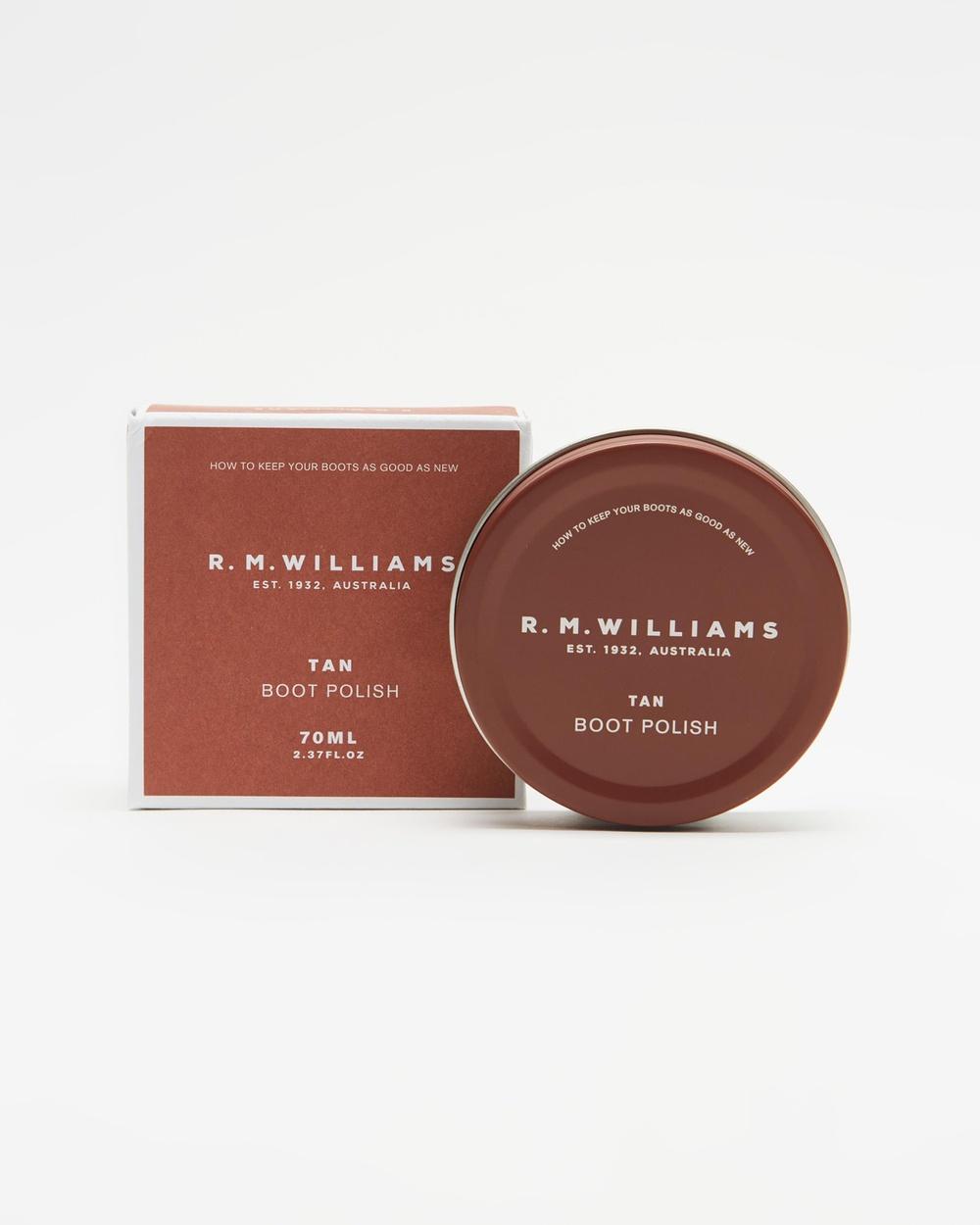 R.M.Williams Stockman's Boot Polish Slippers & Accessories Tan