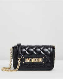 LOVE MOSCHINO - Quilted Cross-Body Bag
