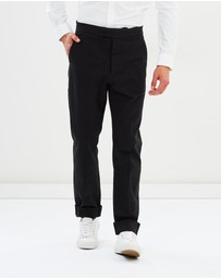 Kent and Curwen - Military Pants with Waistband Ad