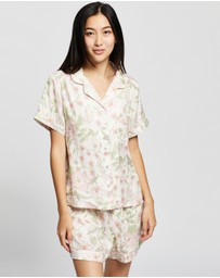 Homebodii - Gidget Short Sleeve PJ Set