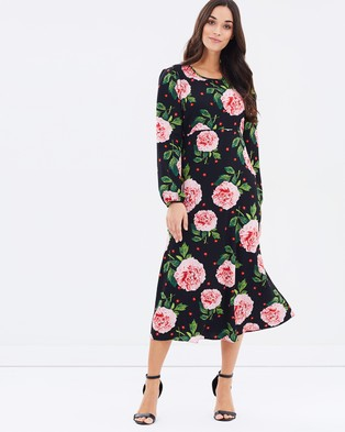 Dorothy Perkins – Floral Long Sleeve Dress