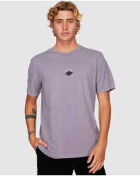 RVCA - Web Shorts Sleeve Tee