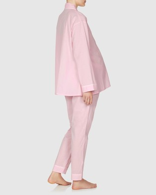 Jasmine and Will Maternity Long Pyjama Set - Two-piece sets (Parfait Pink)
