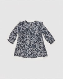 Huxbaby - Floral Frill Dress - Kids