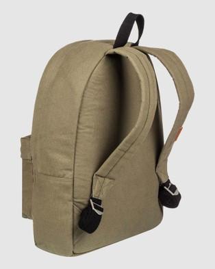 Quiksilver Everyday Poster Canvas 25L Medium Backpack - Backpacks (Burnt Olive)
