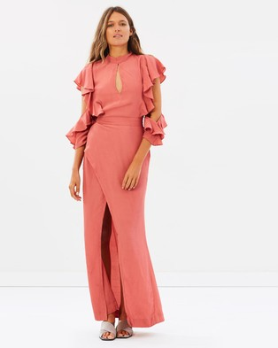 S/W/F – Cicely Dress – Dresses (Coral)