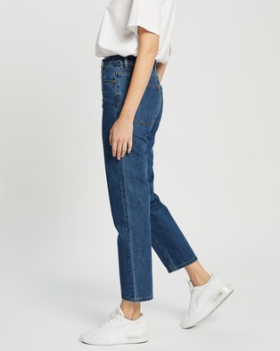 CAMILLA AND MARC Betty Jeans - High-Waisted (Clean Blue)