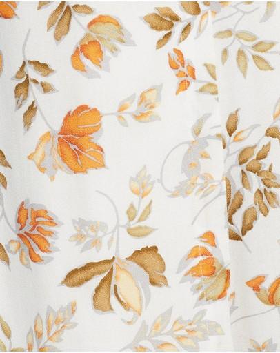 Seven Wonders Jolene Wrap Dress White Floral