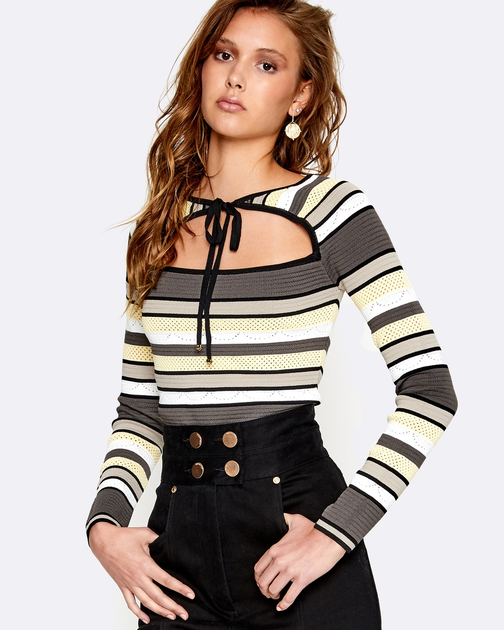alice McCALL Electricity Top Tops Dove Electricity Top