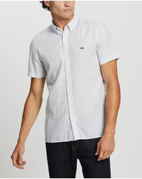 Lacoste - SS Regular Fit Woven Check Shirt