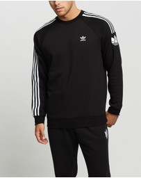 adidas Originals - 3D Trefoil 3-Stripes Crew Neck