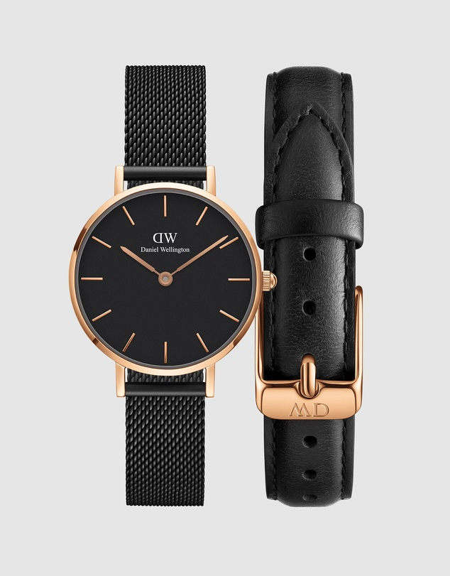 Daniel Wellington - Gift Set - Petite Ashfield 28mm + Leather Strap Sheffield