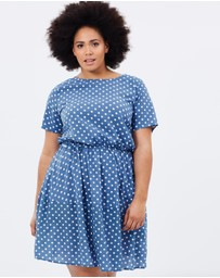 Atmos&Here Curvy - Francis Shift Dress