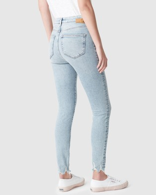 Mavi Scarlett Jeans - High-Waisted (Light Random 90's Stretch)
