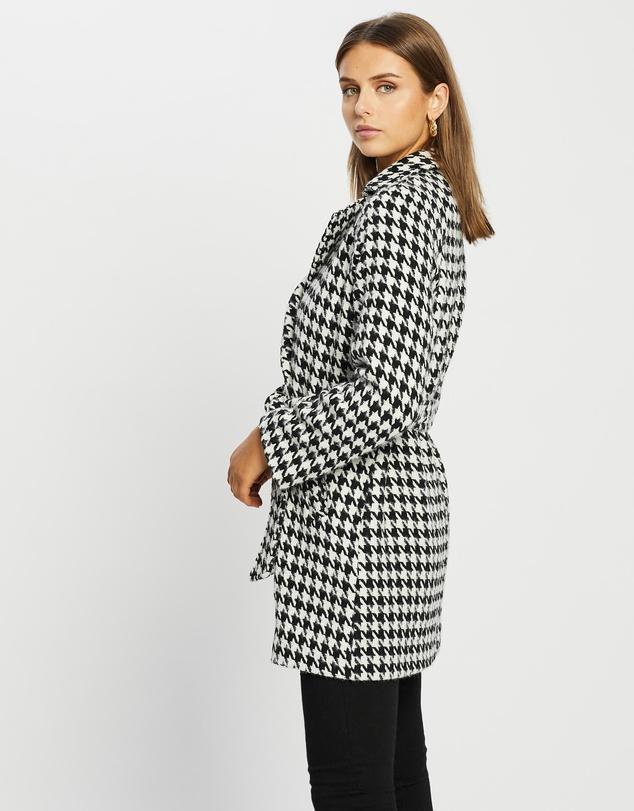 Women Tokyo Wool Blend Tie Waist Coat