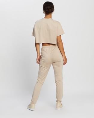 REVERSE Pant Set - Sweatpants (Beige)