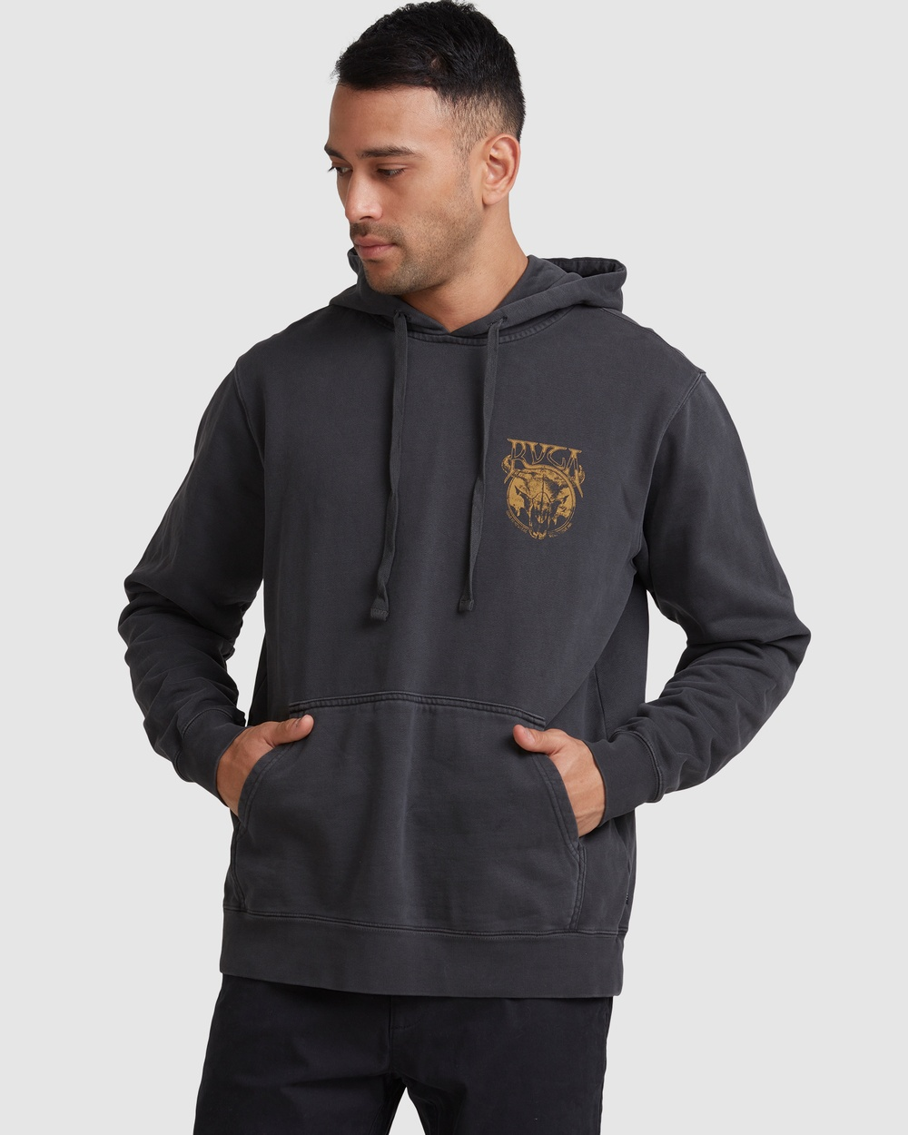 RVCA Death Valley Pullover Jumpers & Cardigans WASHED BLACK Australia