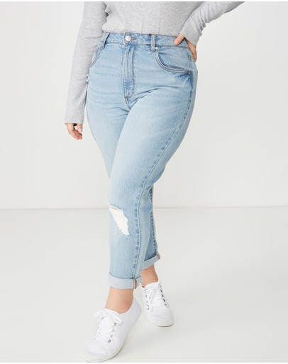 Cotton On - Curve Taylor Mom Jeans