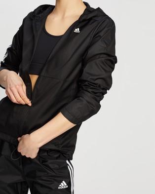 adidas Performance Own The Run Hooded Wind Jacket - Coats & Jackets (Black)