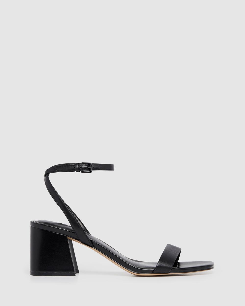Nine West Giada Sandals BLACK Australia