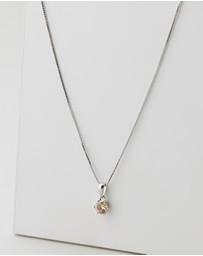 Michael Hill - Pendant with Morganite Cubic Zirconia