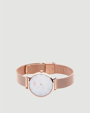Jag Nikki Ladies Watch   Rose Gold Band - Watches (gold)