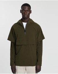 Justin Cassin - Layered Cagoule