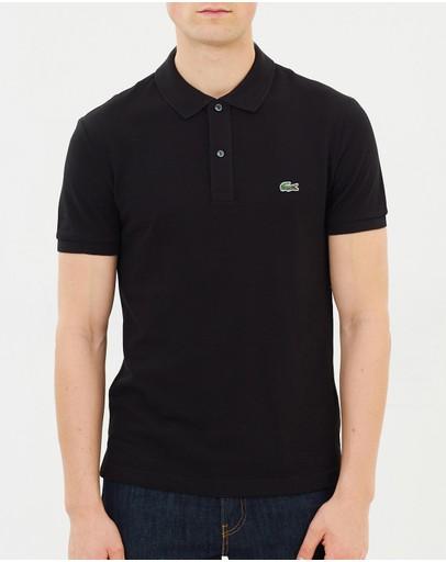 Lacoste Slim Fit Core Polo Black
