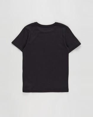 Cotton On Kids - Core Short Sleeve Tee   Kids Teens - T-Shirts & Singlets (Vintage Black) Core Short Sleeve Tee - Kids-Teens