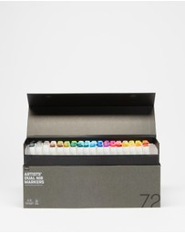 Typo - Artists Dual Nib Markers 72-Pack