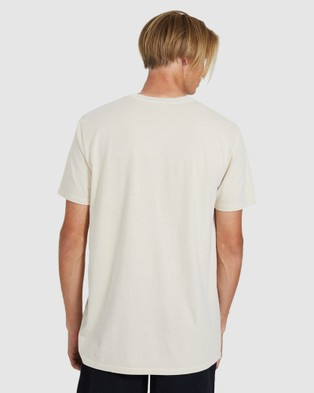 Arvust Knox Short Sleeve Tee - Short Sleeve T-Shirts (NATURAL)