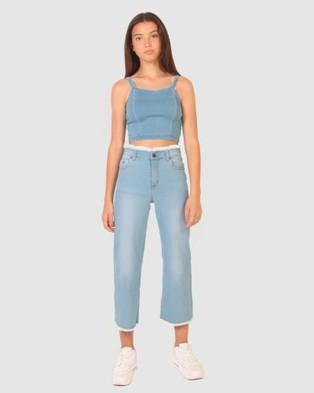 Gelati Jeans Kids Bianca Light Wash Denim Jeans - Jeans (Light Wash Denim)