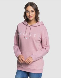 Roxy - Womens High On The Line Oversized Hoodie