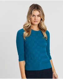 Marcs - Self Check 3/4 Sleeve Knit