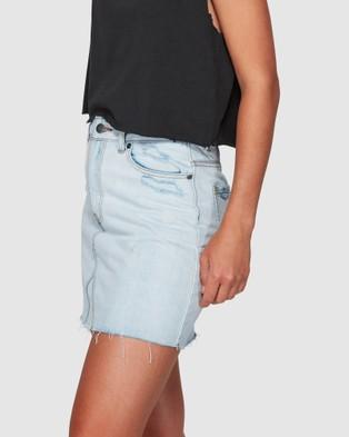 RVCA Siena Bleachout Skirt - Skirts (BLEACHOUT)