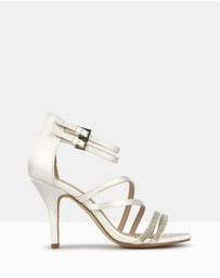 Betts - Claudia Embellished Strappy Stiletto Sandals