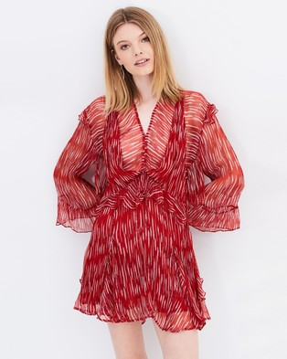 IRO – Canyon Dress – Dresses (Red)