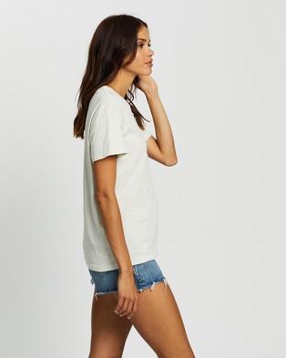Bonds Originals Crew Tee - Short Sleeve T-Shirts (Smoked Sand)