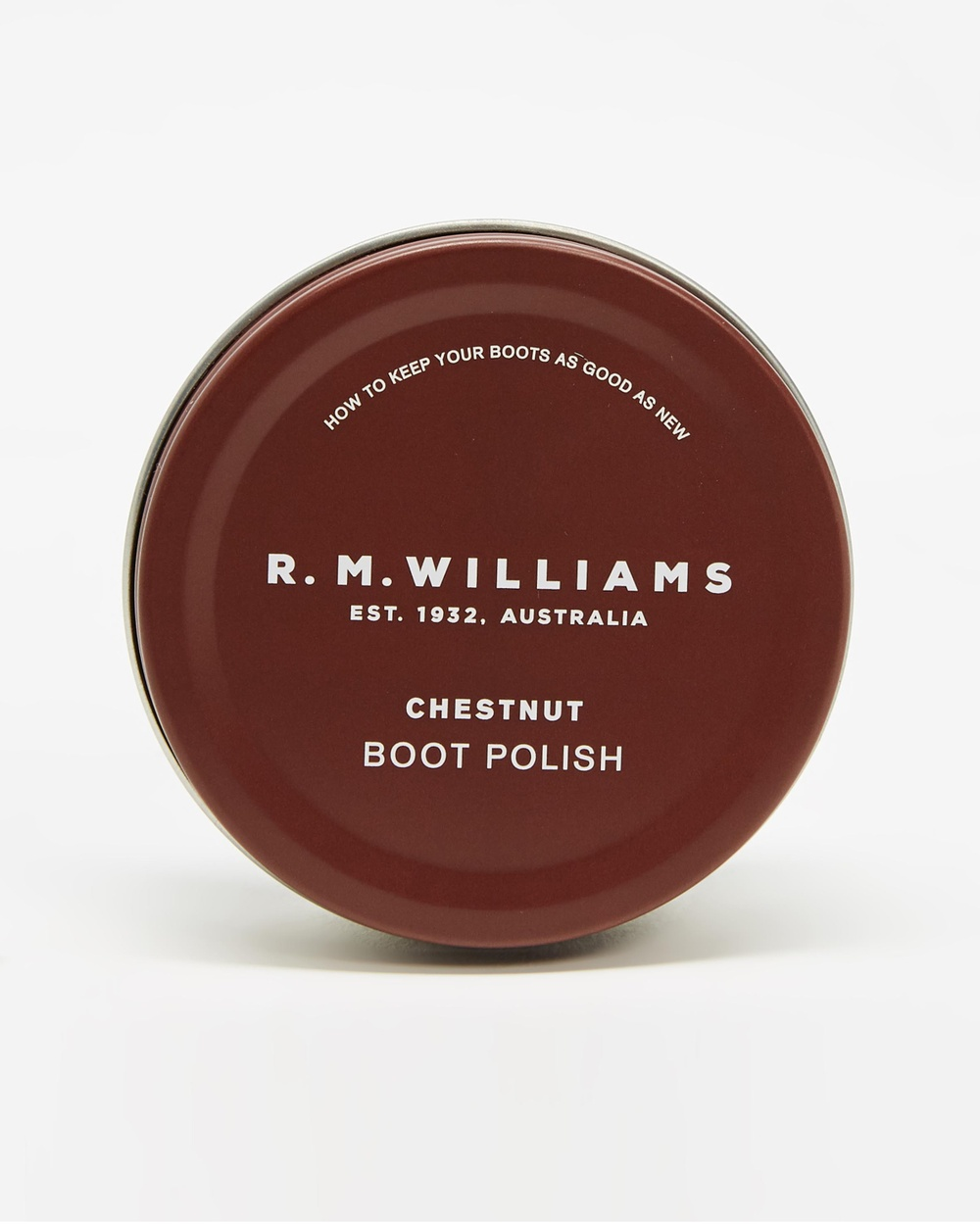R.M.Williams Stockman's Boot Polish Accessories Chestnut