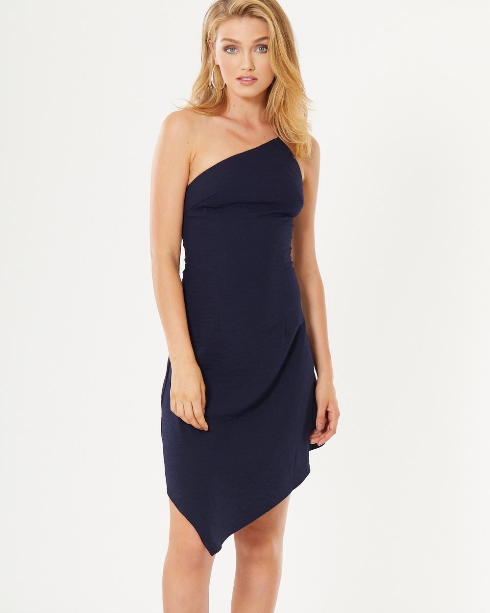 Tussah Eden Dress Dresses Navy Eden Dress