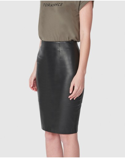 b2a232e61ef9 Leather Skirts | Buy Womens Skirts Online Australia- THE ICONIC