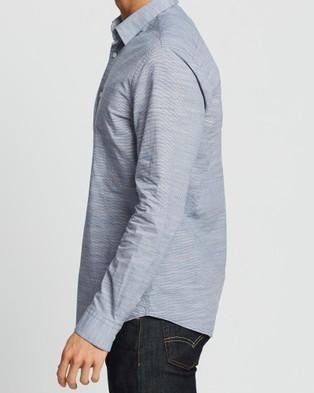 Marcs Fischer Slim Shirt - Casual shirts (NAVY)